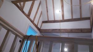 oak beam work. griffinworks